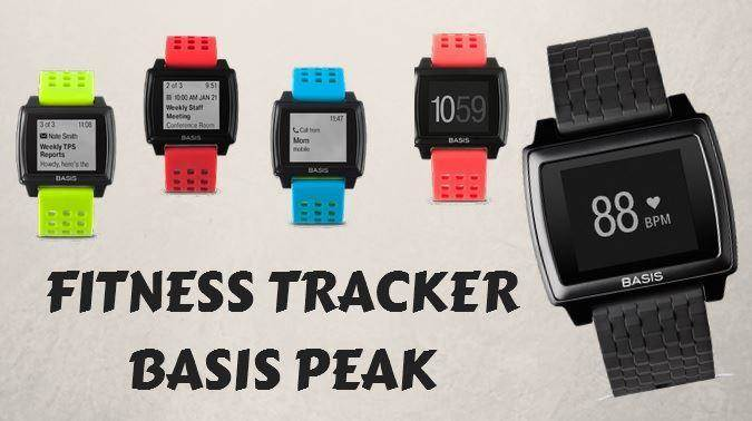 Basis Peak Activity tracker in different colors