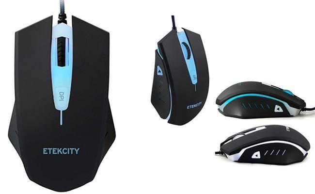 Etekcity® Scroll T-142 Optische Spiele Maus: foto