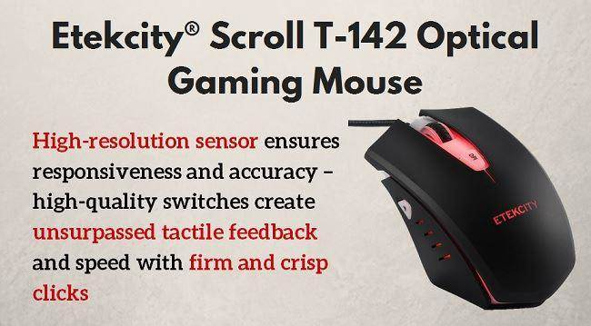 gaming mouse Etekcity® Scroll T-142