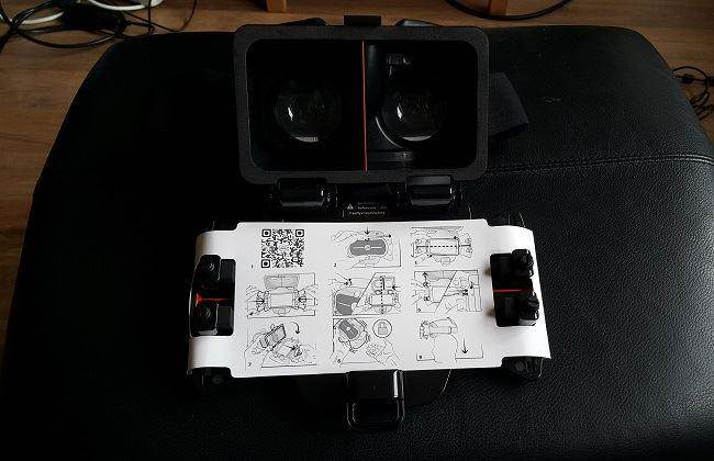 freefly vr smartphone 3D headset