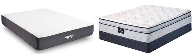 gel infused memory foam mattresses: photo