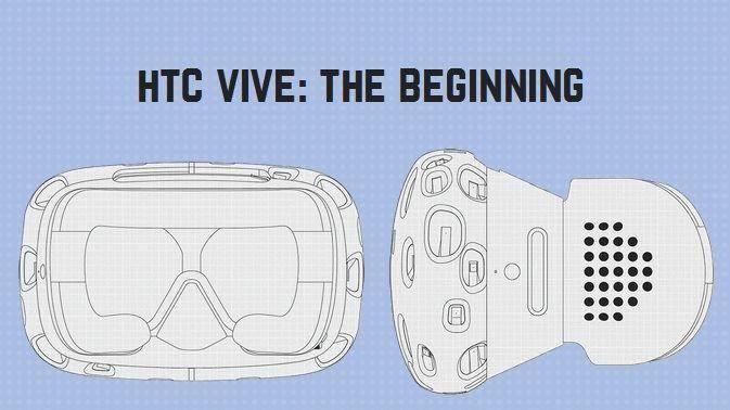 HTC Vive Vr helmet