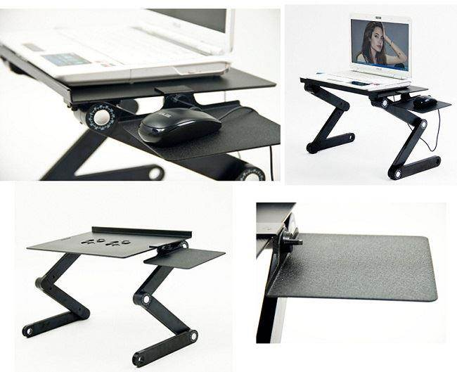 iCraze Adjustable Vented Laptop