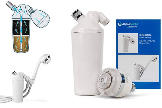 Aquasana Shower Water Filter System: photo