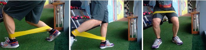 How to use resistance band: photo
