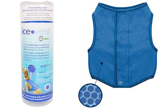 Ice Vest Cooling Vest for dogs: photo