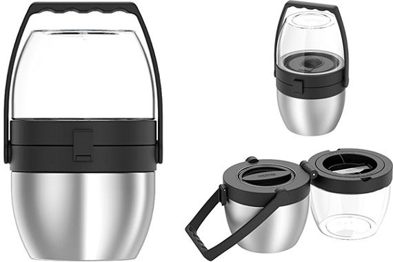 Thermos Dual Compartment Food Jar: photo
