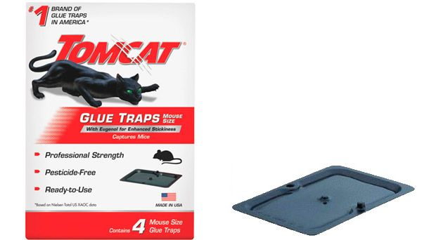 Tomcat Mouse Glue Trap: photo