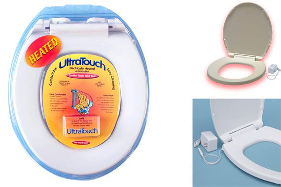UltraTouch Heated Toilet Seat: photo