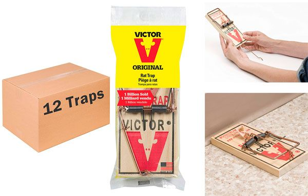 Victor Easy Set Rat Traps: photo