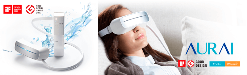 Aurai, eye massager