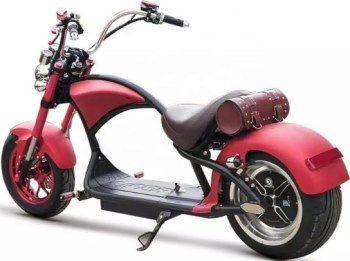 Электроскутер Citycoco Harley Chopper: фото