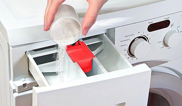 Куда в стиральной машине засыпать порошок 4: фото