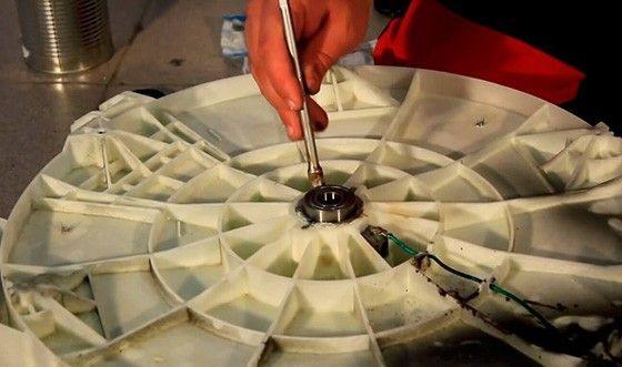 Замена подшипника в стиральной машине 19: фото