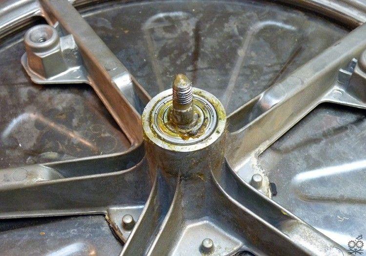 Замена подшипника в стиральной машине 25: фото