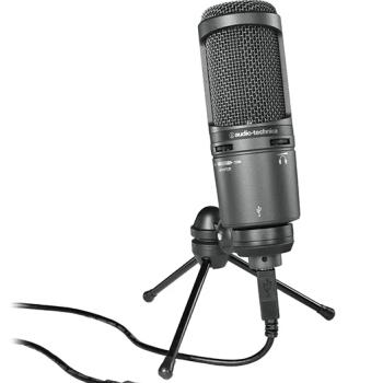 Микрофон Audio Technica AT2020USB: фото