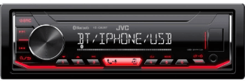 Автомагнитола JVC KD X362BT: фото