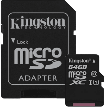 Карта памяти Kingston Canvas Select microSDXC: фото
