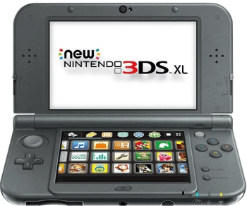 Консоль Nintendo New 3DS XL: фото