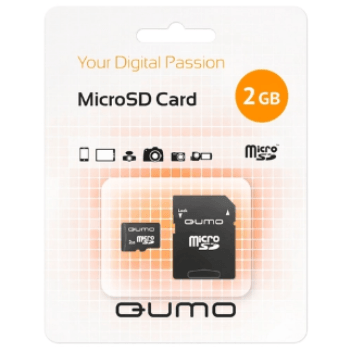 Карта памяти Qumo MicroSD 2Gb: фото