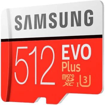 Карта памяти Samsung microSDXC EVO Plus: фото