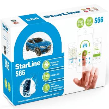 Автосигнализация StarLine S66 BT 2CAN2LIN GSM: фото