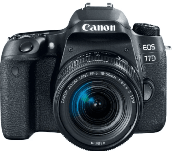 Фотоаппарат Canon EOS 77D Kit: фото