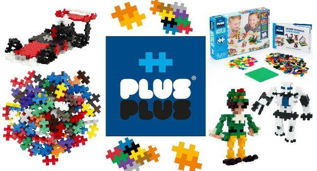 Развивающие СТЕМ игрушки Plus-Plus: фото