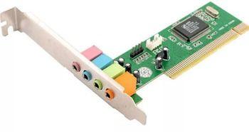 Звуковая карта ATcom PCI 4CH: фото