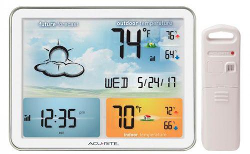Home Weather Station with Jumbo Display: photo