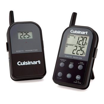 Wireless Dual Probe Grilling Thermometer: photo