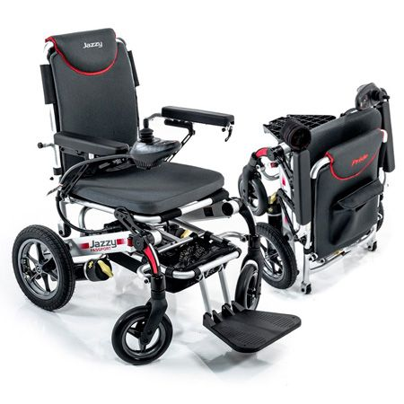Compact & Lightweight Electric Wheelchair: photo