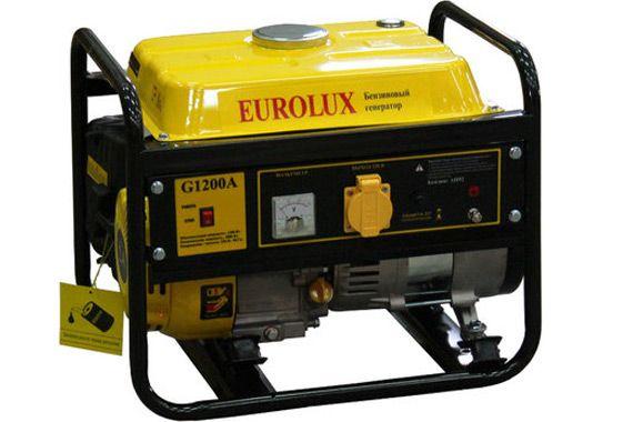 Бензиновый генератор Eurolux G1200A: фото