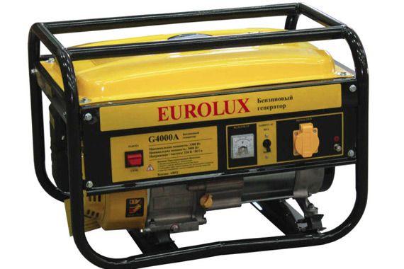 Бензиновый генератор Eurolux G6500A: фото