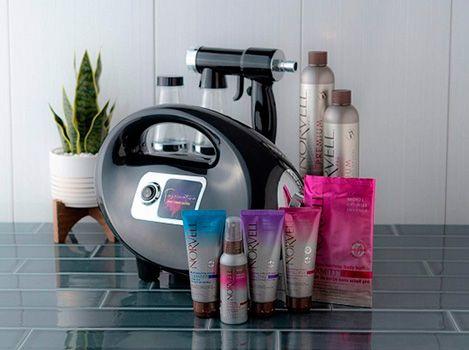 Norvell Black Fascination Spray Tan Machine: photo