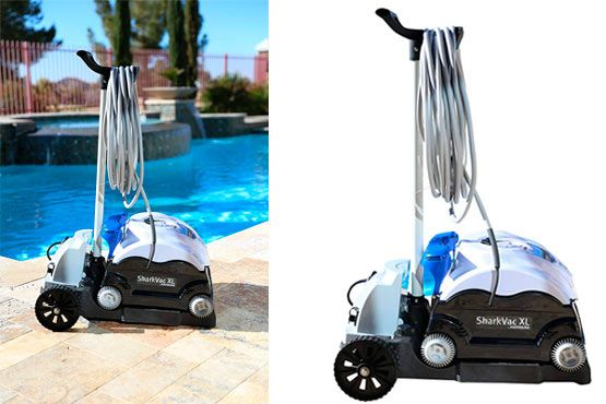 Robotic Pool Cleaner with Smart Steering Technology: photo