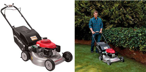Self-Propelled Lawn Mower Honda: photo