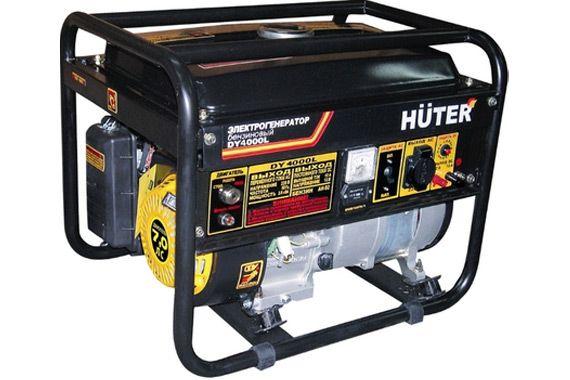 Бензиновый генератор Huter DY4000L: фото