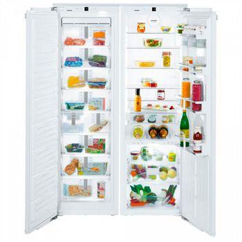 встраиваемый холодильник Side-by-Side от Liebherr: фото