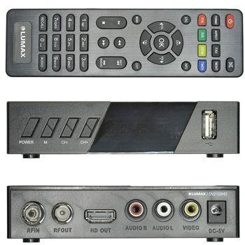 ТВ-приставка Lumax DV2120HD: фото