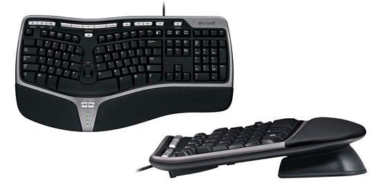 Мембранная клавиатура от Microsoft: фото