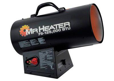 Mr. Heater BTU Forced Air Propane Heater: photo