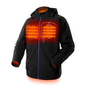 ORORO Men's Soft Shell Heated Jacket