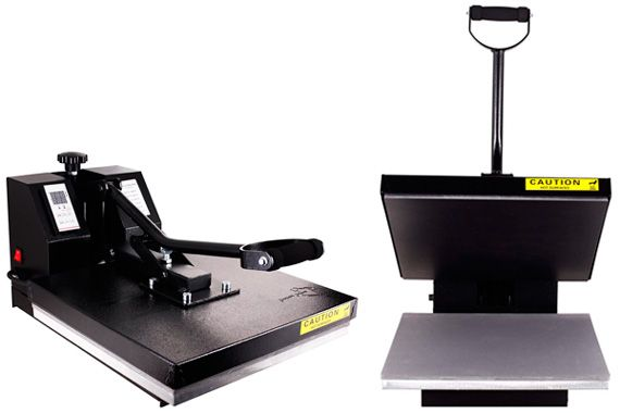 Standard Heat Press Machine with Basic Features: photo