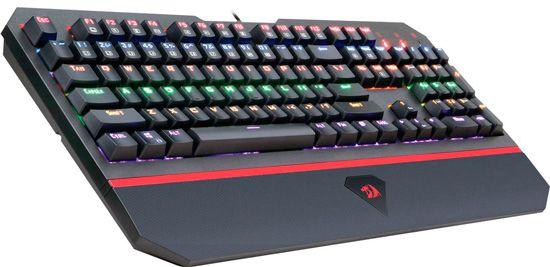 Бюджетная игровая клавиатура Redragon: фото