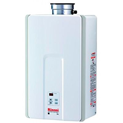 Safe Indoor Tankless Propane Water Heater: photo