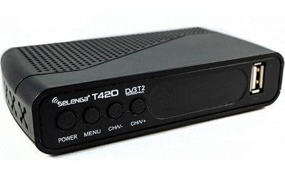 ТВ-приставка Selenga T42D: фото