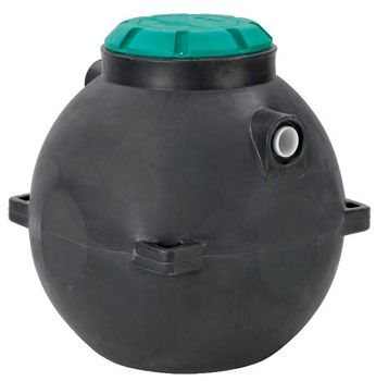 Poly Septic Tank With Unique Design: photo