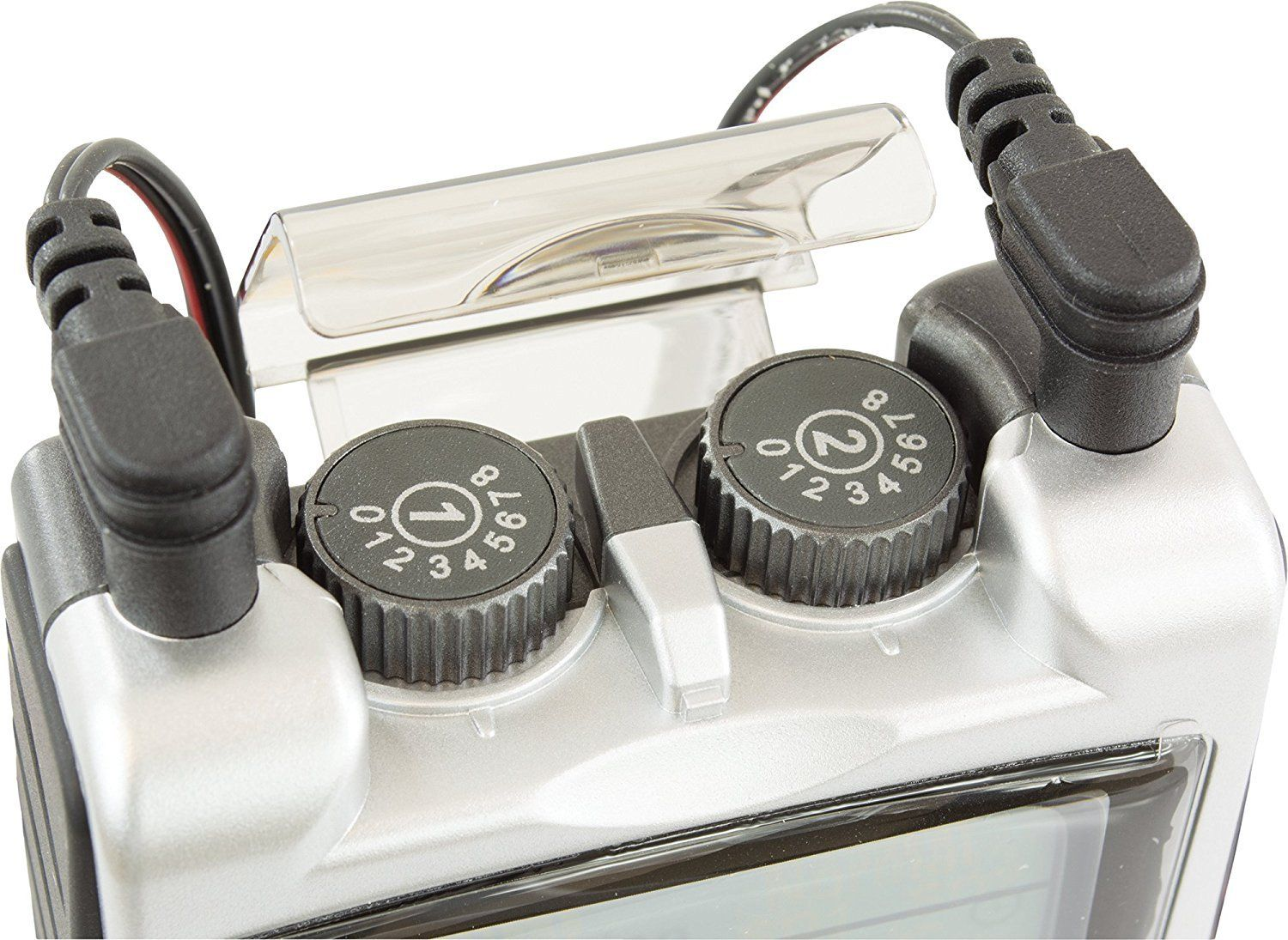 TENS 7000 2nd Edition Digital TENS Unit With Accessories Dual Channel Knobs: photo