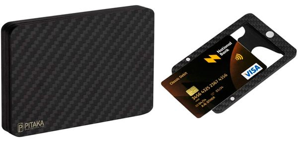 The World's First Magnetic Carbon RFID-Blocking Wallet: photo
